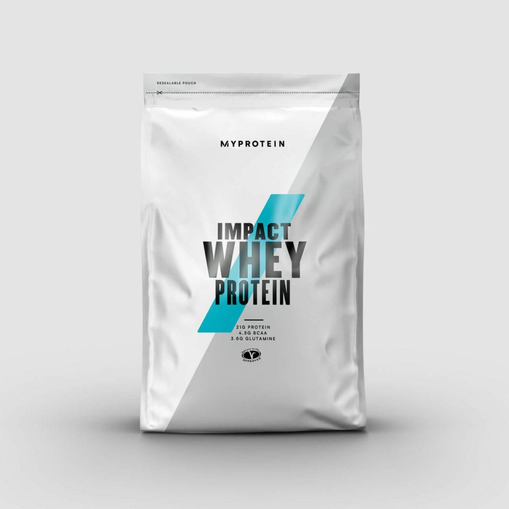 impact whey proteinas