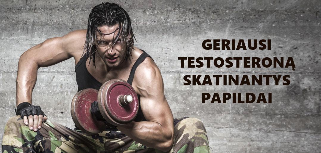 3 Geriausi Testosterono gamybą skatinantys papildai